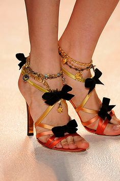 Hard to pick ONE favorite designer or house. I'm a Chanel girl, but Christian Lacroix is absolute BRILLIANCE. These shoes are gorgeous!