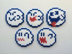 Super Mario Perler Bead Sprite Set - Boo Set 1