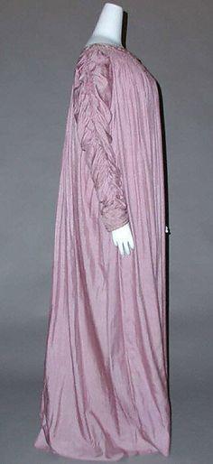 Pale plum silk Aesthetic Reform Dress, Liberty & Co., 1890s