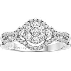 For a Christmas Morning Proposal: Keepsake Holiday Carat T. Diamond Engagement Ring in Sterling Silver Brighton Jewelry, 3 Carat, Best Jewelry Stores, Bridal Sets, Silver Diamonds, Buy 1, Jewelry Branding, Diamond Engagement Rings, Wedding Rings