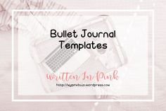 Bullet Journal Templates for Weekly Spreads and a Habit Tracker FREE for download and use!