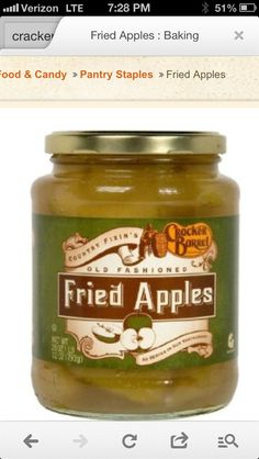 Fried apples!