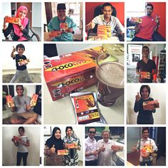 Faces of CHOCOTIVO consumers  Thank you for your supports!