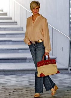 The Best Fashion Ideas For Women Over 60 - Fashion Trends Over 60 Fashion, Over 50 Womens Fashion, Fall Fashion Trends, Fashion Over 50, Autumn Fashion, Fashion Looks, Fall Trends, Fashion Top, Cheap Fashion