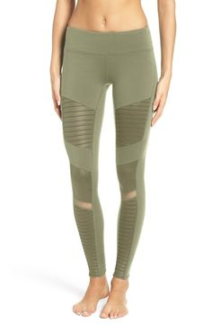 Alo Moto Leggings available at #Nordstrom  http://www.peacelovestyle.com/2016/11/23/shopping-as-a-sport/
