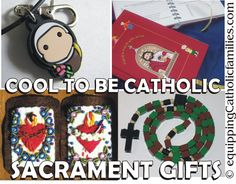 cool to be Catholic sacrament gifts that will help them remember their special day AND help them grow in their prayer life!