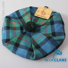 Gunn Ancient Tartan Tam. Free worldwide shipping available.
