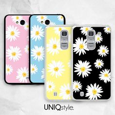 Daisy flower phone case for LG g2 g2 mini g3 Nexus 4 by Uniqstyle, $9.99