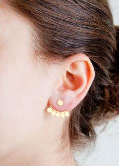 On Trend: Jane Diaz Scallop Hugger Earring
