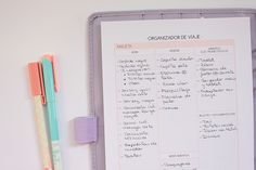 clear colours: Agenda Clear Colours 2015-2016 y Organizador Blogger