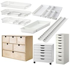 Makeup Storage From IKEA. Here are a few ways to store your makeup. Some must have items, that are affordable, and simple! These can all be purchased at http://www.ikea.com/us/en/.