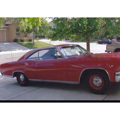 1965 Chevrolet Impala 396 425hp...it go fast!