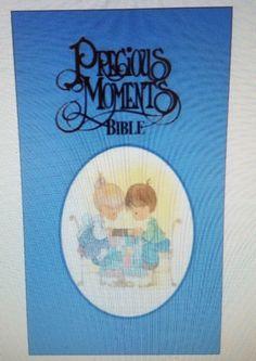NKJV PRECIOUS MOMENTS CHILDREN'S BIBLE, SMALL HANDS EDITION, BLUE, HB, Brand New | Books, Nonfiction | eBay!