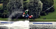 Wakeboarding at Olympiapark