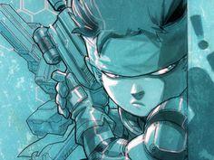 Metal Gear Solid via Eddie Nunez Video Game Art, Video Games, Kojima Productions, Interactive Art, Metal Gear Solid, Science Art, Geek Chic, Best Games, Game Design