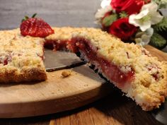 Strawberry Crumble Tarte (Easy recipe. ITA-ENG recipe)