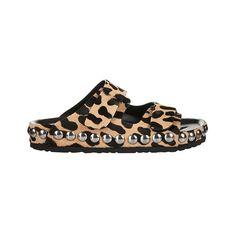 Giambattista Valli leopard-print calf-hair sandal, $751 matchesfashion.com