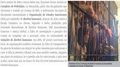 EDGAR RIBEIRO: DOCUMENTO REVELA CONTINUIDADE DE VIOLÊNCIA EM PEDR...
