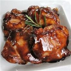 A much requested chicken recipe! Easy to double for a large group. Delicious! - Baked Teriyaki Chicken