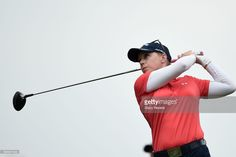 Morgan Pressel hits her tee shot on the third hole during the third round of the Meijer LPGA Classic at Blythefield Country Club on June 17, 2017 in Grand Rapids, Michigan.