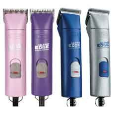 Andis UltraEdge 2-Speed Pet Grooming Clipper - I want the purple one! Mine is still working, though, so it will be a while...