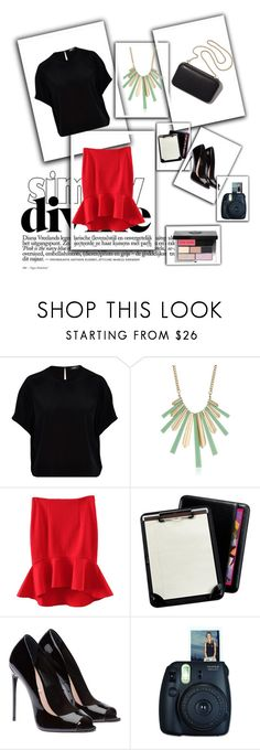 """Look 601: Best and Worst"" by hermioneyouarewelcome ❤ liked on Polyvore featuring Hallhuber, Kensie, Clare V., WithChic, Andrew Philips, Bobbi Brown Cosmetics, WorkWear, semiformal and TVinspiredfashion"