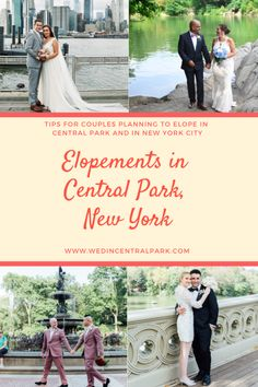 I've planned over three hundred weddings since I began my beloved business, Wed in Central Park. A good share of them have been elopements. Also, many of them have been small weddings with just… Top Wedding Trends, Wedding Tips, Wedding Vendors, Wedding Styles, Wedding Planning, Dream Wedding, Got Married, Getting Married, Central Park Weddings