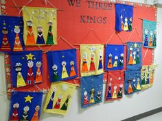 """We Three Kings"" banners - that artist woman"
