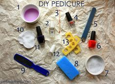 step by step pedicure instructions