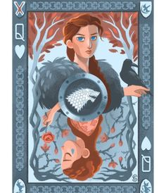 """My """"Three Queens"""" series inspired by #gameofthrones These took way longer than I expected! Glad they're finally done ..."""