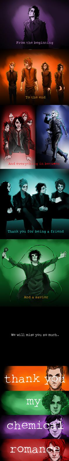 Thank you My Chemical Romance