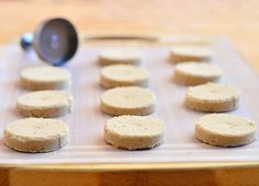 Polvoron-Filipino shortbread cookies made with powdered milk, flour, sugar and butter. Check out the basic recipe plus suggested variations