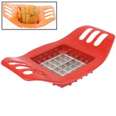 [USD0.75] [EUR0.70] [GBP0.54] Ultra-practical Potatoes Cut Strips Tools French Fries Cut Knives(Random Color Delivery)
