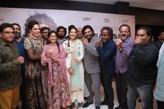 Celebrities at Irudhi Suttru Movie Premiere
