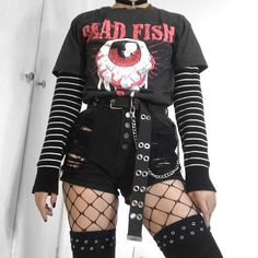 Image about fashion in Flatcetera by iam_vi on We Heart It Мрачный ра Grunge Goth fashion flatcetera Heart iamvi Image Мрачный ра Punk Outfits, Gothic Outfits, Teen Fashion Outfits, Retro Outfits, Grunge Outfits, Cute Casual Outfits, Grunge Clothes, Pastel Goth Outfits, Girl Outfits