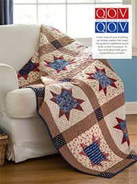 Thank you Star Quilt Digital Pattern from Fons and porter This star is different then the sawtooth, it has  a gap in between the points.   I wonder what the square sizes are instead of buying this pattern.  If anyone has the dimensions let me know.  Thanks