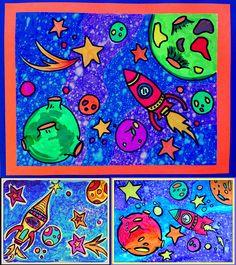 Un projet d'arts plastique pour tous ! Aussi bien pour la maternelle que pour les 6e année. Selon leur âge, ils pousseront plus loin le dessin. La technique reste magique ! Feutre permanent noir et feutres ordinaires de couleurs. Nous travaillons l'énumération. (Une belle occasion d'utiliser l'affiche énumération, juxtaposition et superposition, pour ceux qui l'ont déjà.) Description détaillée, photos et grille d'évaluation incluse.