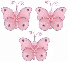 Bugs-n-Blooms specializes in nylon butterfly decorations, hanging dragonflies, ladybug decor, bumble bees and daisy flower decor for your little girls nursery or bedroom. Our butterflies are designed to coordinate with any bedding to create a stunning garden themed room using our dragonfly, ladybugs, bumble bees and daisy flower decor. Our elegant nylon accessories are perfect to hang from the ceiling and/or attach to the walls. All of Bugs-n-Blo...