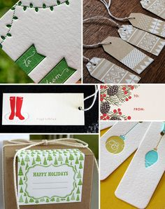Gift Tag Ideas Inspiration2 Holiday Gift Wrap Inspiration, Part 4