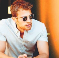 Theo James. Good Lord