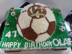 107 Best Soccer Themed Cakes Images In 2016 Soccer Cake