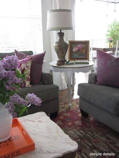 Simple Details: family room