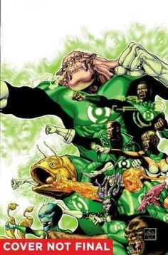 DC Comics Lantern Corps Edge of Oblivion 1