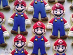 Super Mario Cookies