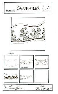 Lacefairy Zentangels: Slines and Squiggles