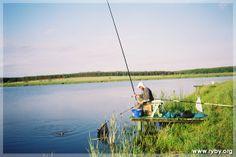 """Łowisko """"Bachury"""" znajduje się w odległości ok. 60 km na płd. wschód od Białegostoku i jest przepięknie położone."""