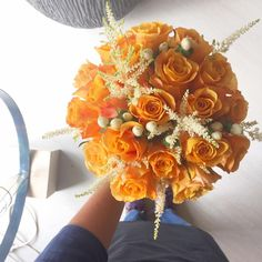Orange bouquet by Volària