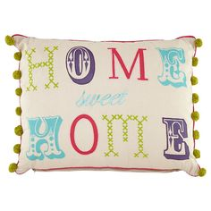Home Sweet Home Cushion (Asda)