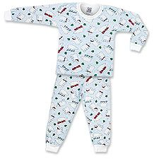 Your cubs could be lulled into their nightly hibernation more easily while wearing this comfortable longjohn set from Saras Prints. Holiday Pajamas, Polar Bears, Kids Pajamas, Skates, Cubs, Winter Wonderland, Fun Stuff, Pine, Winter Hats