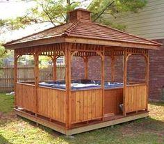 Nice gazebo, build one for yourself - http://youtu.be/CT75Bzi_BL0